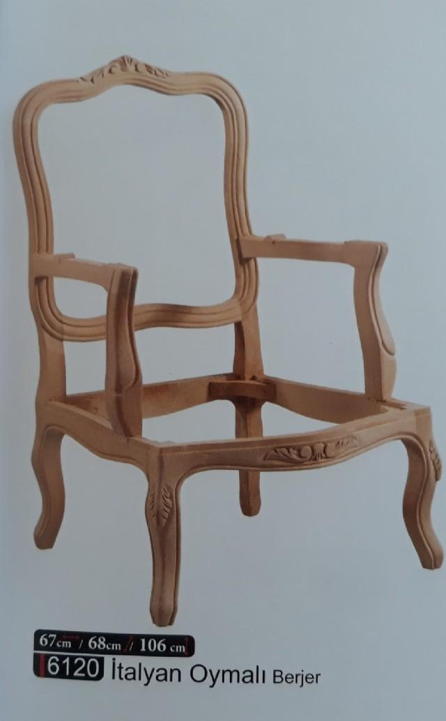 asarımları klasik tekli koltuk model italyan berjer modeli