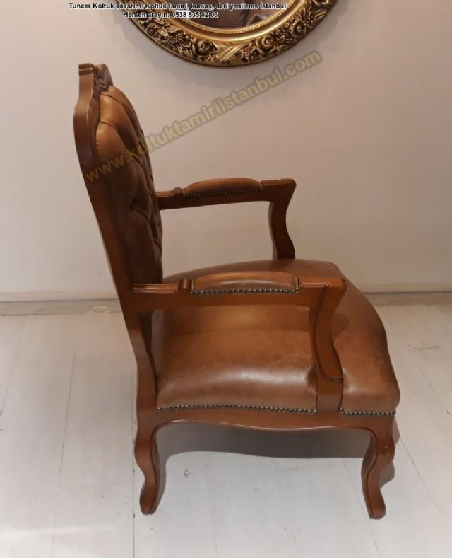 klasik tekli koltuk modelleri italyan modeli berjer koltuk