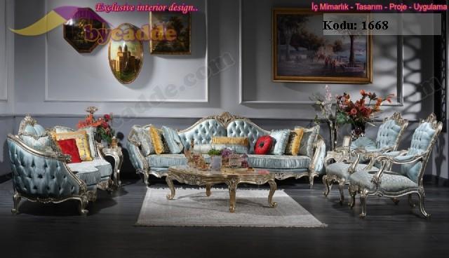 Julyet Klasik Koltuk Takımı Art Deco Konsept