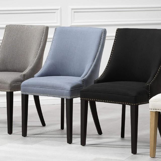Kabaralı Keten Modern Lüks Sandalye Modeli Kalite Ve Konfor