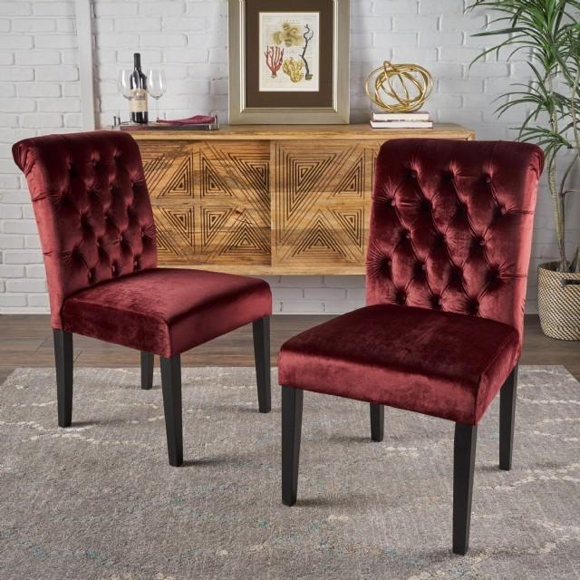 Kadife Sandalye Yemek Sandalyesi Modern Lüks Mutfak Yemek Odası
