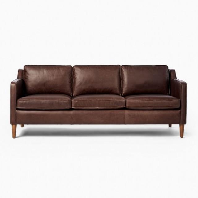 ları deri üçlü kanepe modelleri modern deri koltuk çeşitleri modern haki
