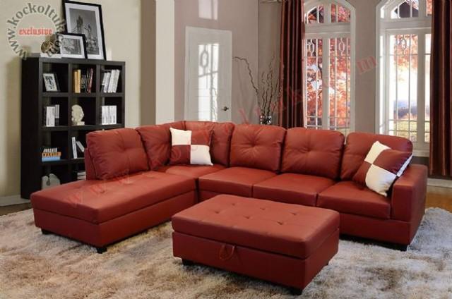 sectional l shaped sofas rot karminrot ecksofa polstermöbel