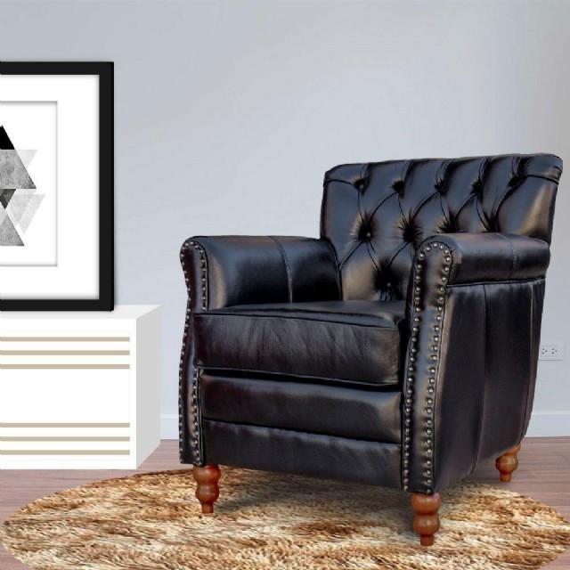 Klasik Deri Berjer Modeli Hakiki Deri Döşemeli Olup Oturma Odanıza Şık Ve Rahat Bir Minyon Tekli Olu