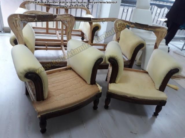 yatağı gerçek deri koltuk döşeme klasik koltuk yüz değişimi