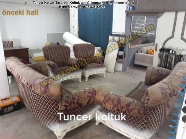 Klasik Salon Takım Döşeme Avangart Koltuk Renk Kaplama Kişiye Özel Klasik Koltuk Döşeme Kumaş Renk Y
