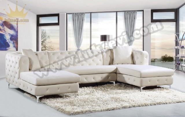 Koltuk Takımı Ümraniye İstirahatli Luxury U Köşe Koltuk Takımı İstanbul Luxury Sofas