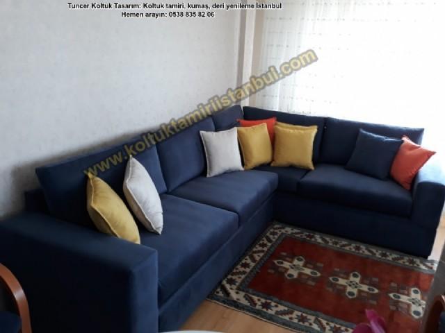 eğişimi suadiye yataklı köşe koltuk yüz değişimi bostancı modern yataklı