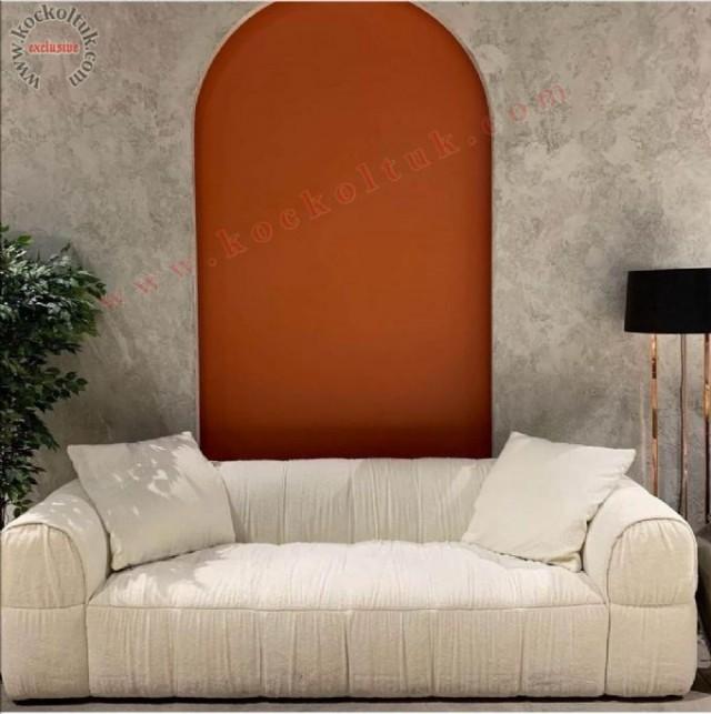 Krem Renk Modern Koltuk Takımları