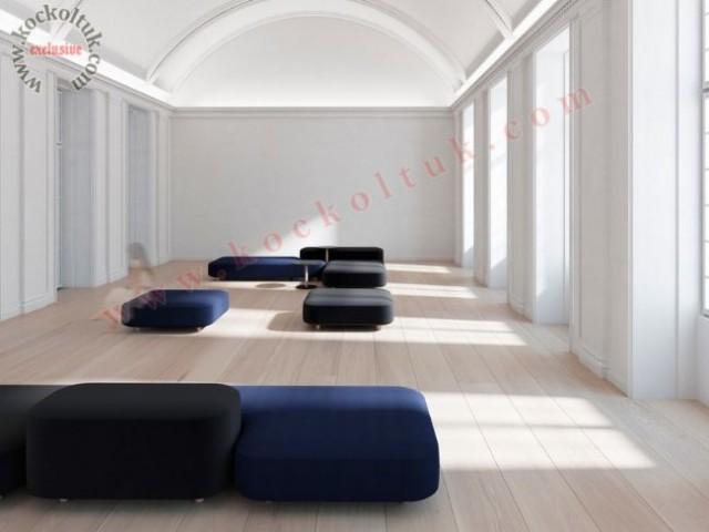 Lobi Koltuk Dekorasyonu Özel Tasarım Bekleme Salonu Koltukları