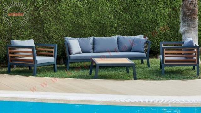 a.bahçe masası bahçe sandalyesi masa sandalye metal bahçe mobilyası metal