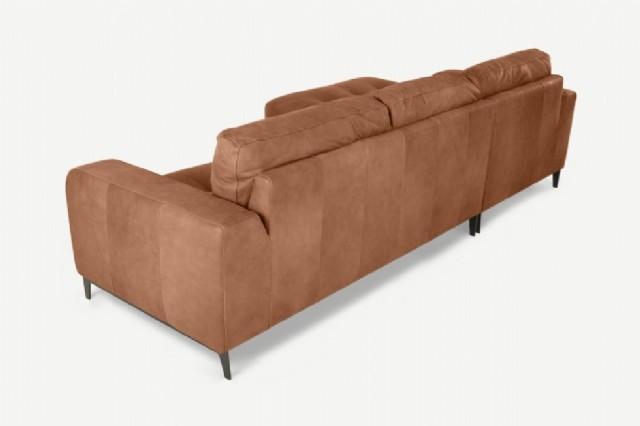 öşe taba rengi koltuk takımı modern deri köşe koltuk takımı