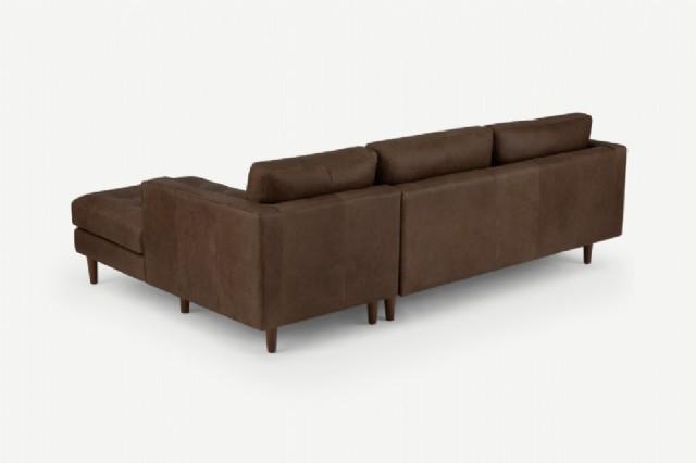kahve renk deri köşe kanepe modelleri deri köşe k