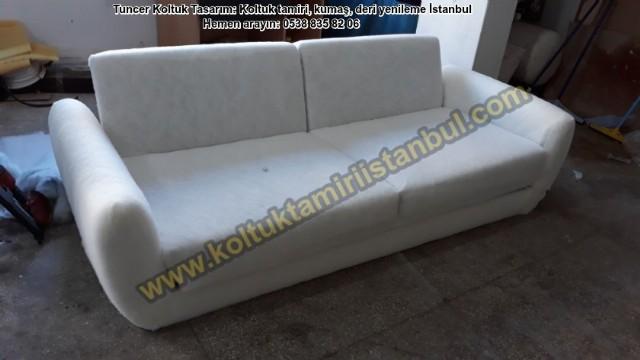 Modern Koltuk Döşeme / Salon Takımı Yüz Değişimi, Ataşehir Hakan Beyin