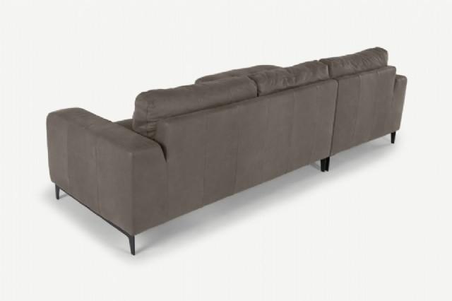 modern koyu renk deri köşe koltuk modern köşe koltuk takımı