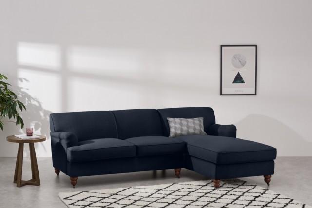 Modern Köşe Takım Kanepe Modeller Antrasit Renk Keten Kumaş