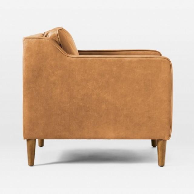 r şık tasarım deri tekli koltuk modern deri tekli koltuklar taba renk de