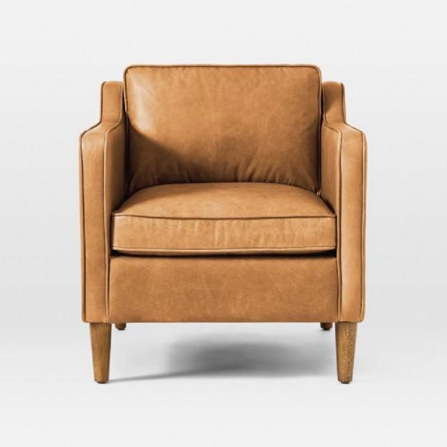 dekoratif tekli koltuklar şık tasarım deri tekli