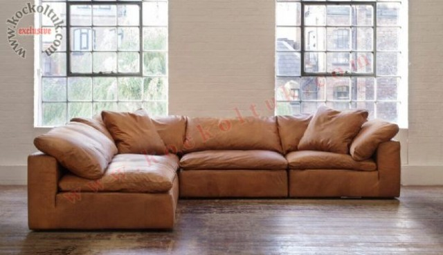 a set exclusive genuine leather sectional sofa manufacturer