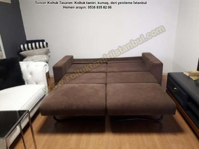 Modern Yataklı Kanepe Üretimi, Kişiye Özel Yataklı Soft Kanepe Üretimi