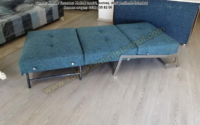 Modern Yataklı Tekli Koltuk Modeli Tekli Koltuk Modern Şık Tasarım Kişiye Özel Kumaş Renk Seçeneği İ