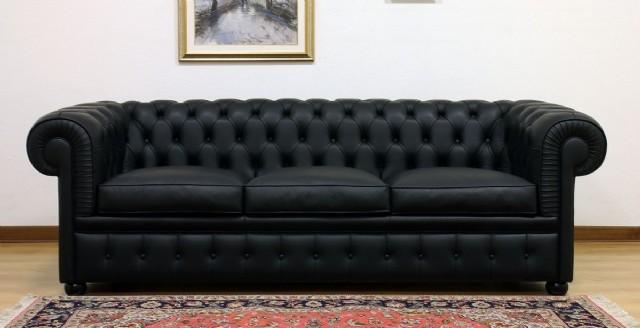 Ofis Deri Kanepe Modeli Siyah Renk Gerçek Deri Çalışması Ve Özel Ölçü İmkanı Olup Ve Zengin Renk Der