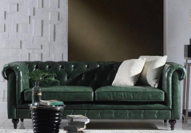 sofas models gerçek deri takımlar chester koltuk takımlar