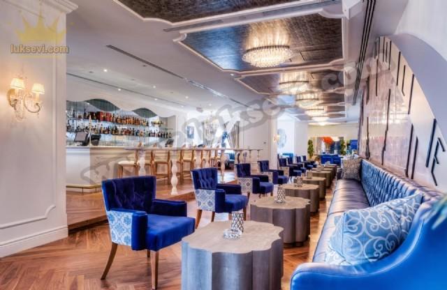 Otel Restoran Koltukları Sedirler Masa Ve Sandalyeler İmalat