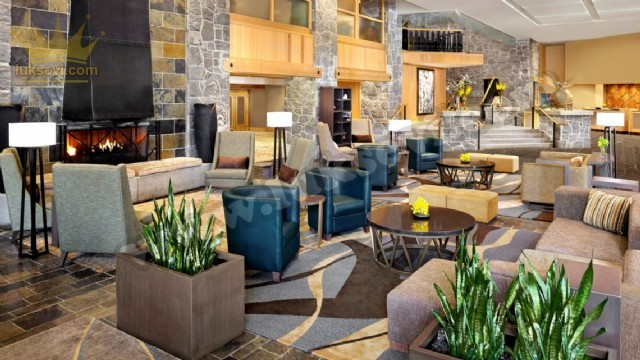Otel Yaşam Lanları Lobi Koltuk Modelleri Lüks Lobi Tasarımı Özel Üretim Koltuk