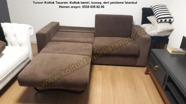 Otel Yataklı Üçlü Kanepe Modelleri / Mimar Betül Hanımın Siparişi