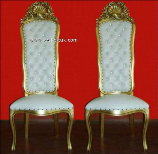 Özel Tasarım Farklı İşçilik Nikah Sandalyeleri