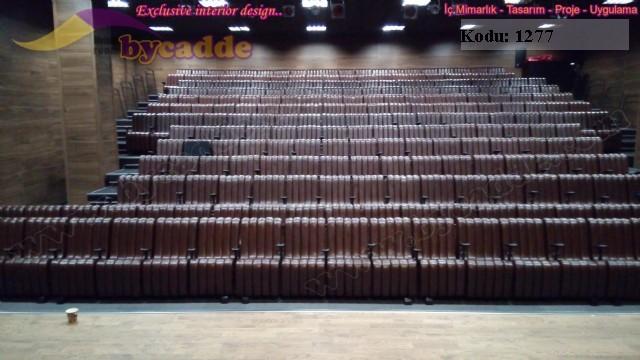 Özel Tasarım Konferans Salonu Koltuğu