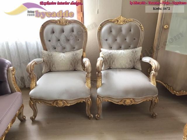 klasik avangart koltuklar, klasik koltuk takımları, avangart mobilya, klasik mobilya, oymalı koltuk takımları, lüks koltuk takımları, lüks mobilya modelleri