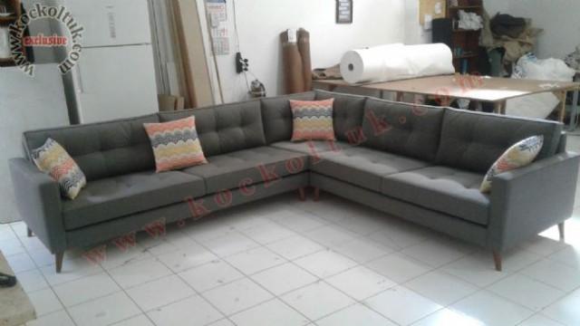 Rahat Oturum Modern Köşe Koltuk