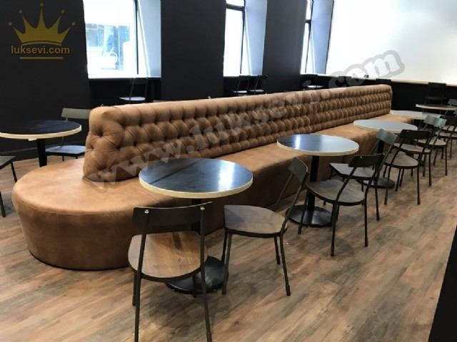 Resterant Koltukları Chester Sedir Koltuk Modelleri Lüks Cafe Restoran Tasarımları