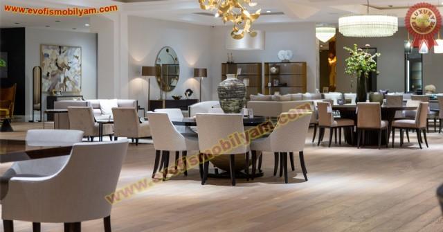 Restoran Masa Sandalye Tasarımı Özel Üretim Lüks Masa Sandalye