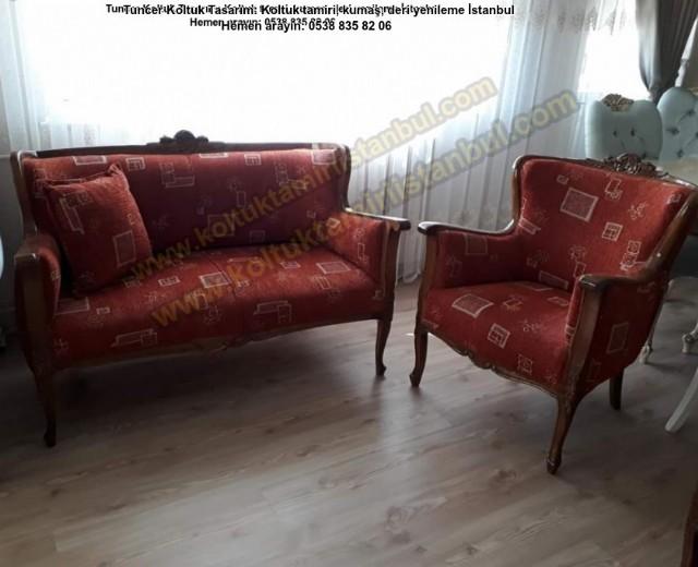 Salon Klasik Koltuk Kumaş Yüz Değişimi Kişiye Özel Avangart Koltuk Deri Kanepe Modern Klasik Kanepe