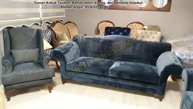 Salon Koltuk Takım Yüz Değişim Beykoz Acarkent Konakları