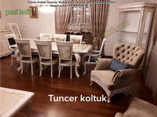 koltuk döşemeci, sandalye yüz değişimi, sandalye tamiri, koltuk kumaş değişimi, mobilya tamiri