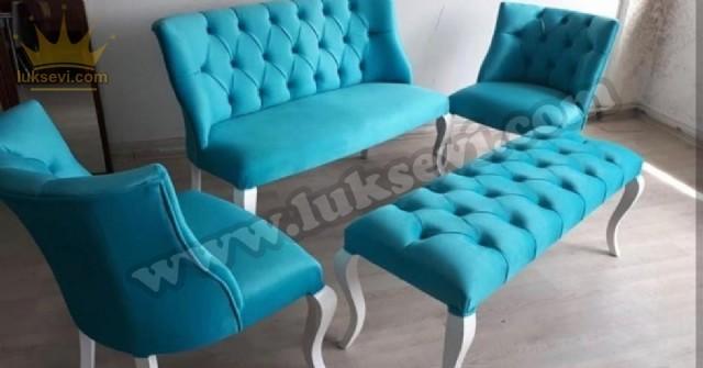 Sandalye Puf Modelleri Lobi Koltuk Takımları Özel Dekoratif Bekleme Koltukları Lüks Tasarım