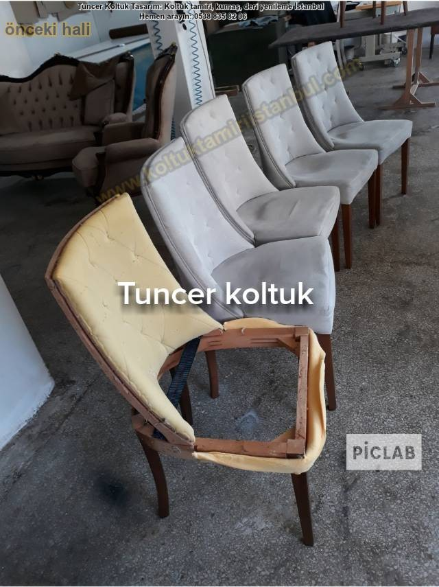 Sandalye Ve Tamiri Kumaş Değişimi İşleriniz Yapılır