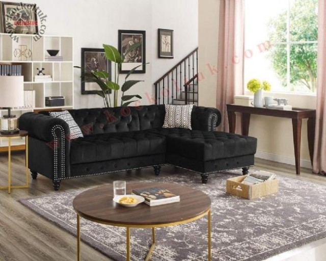 ermöbel schwarz gefarbt black l shaped minimal corner sofas
