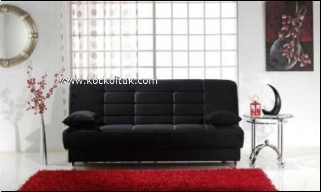 Siyah Renk Modern Kanepe