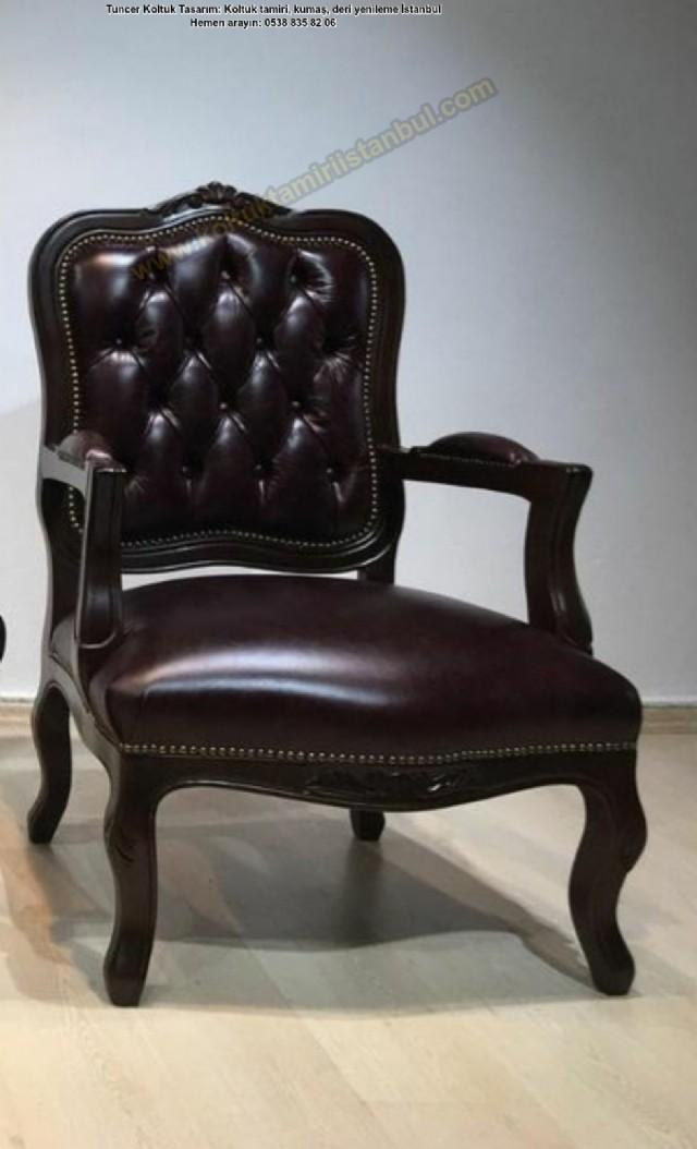 leri klasik tekli koltuk modelleri deri koltuk takımları tekli koltuk it