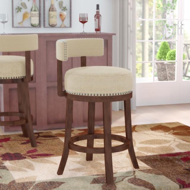 Tabure Şeklinde Bar Sandalyesi Modern Bar Sandalyeleri
