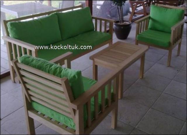 Teak Masa Ve Sandalyeler Bahçe Masa Takımı