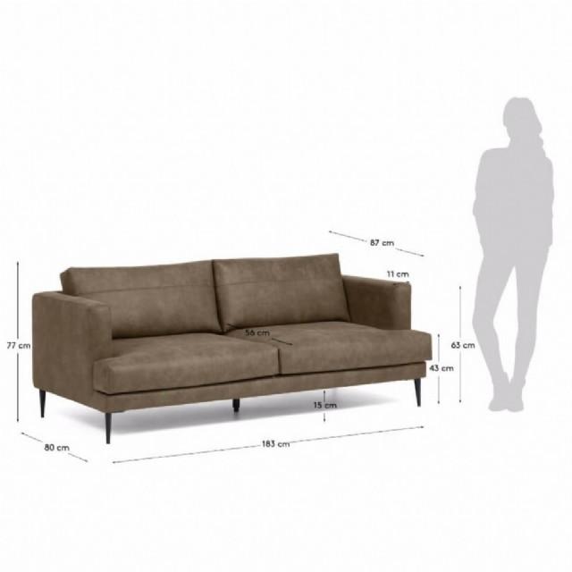 ev için deri koltuk takımları deri modern koltuk