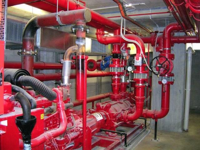 Yangın Tesisatı Montajı Mekanik Tesisat Ustası