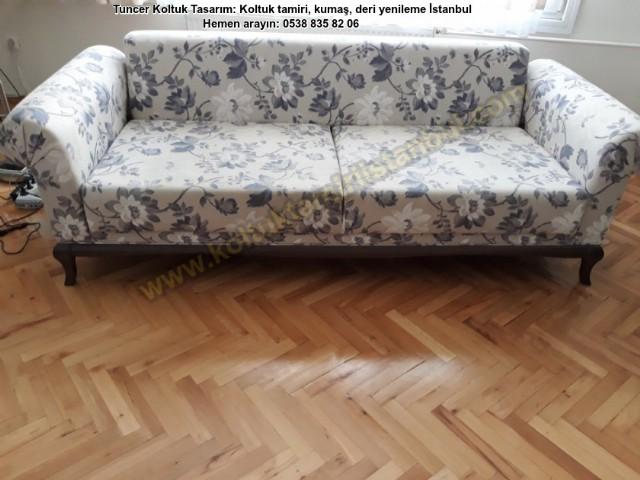 Yataklı Koltuk Sandalye Baba Koltuğu Kumaş Değişimi Yenileme