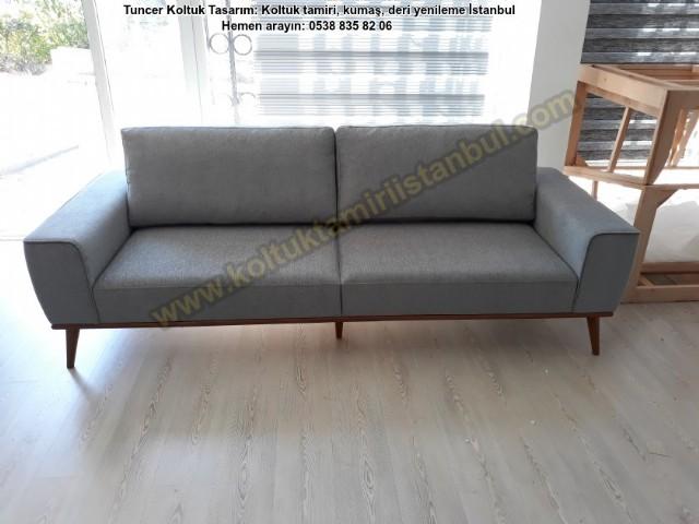 Yataklı Modern Koltuk Modelleri Yüksek Ayaklı Ataşehir Nihat By